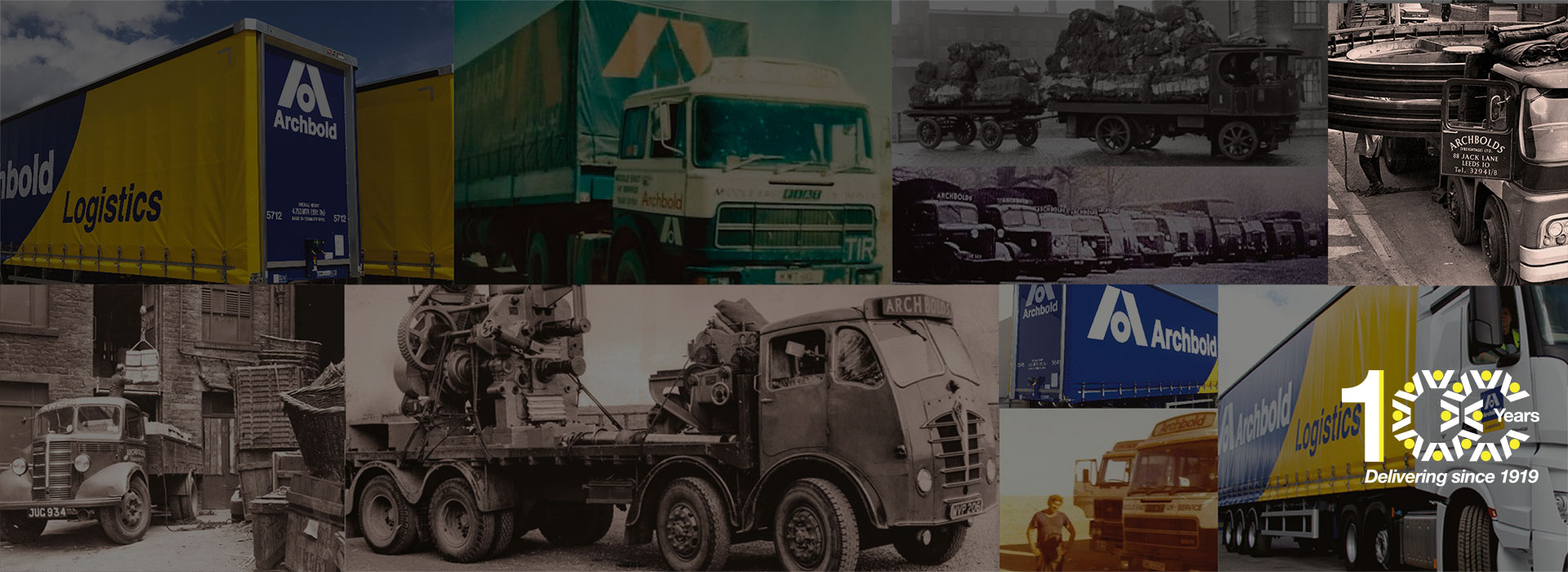 Archbold Logistics celebrating over 100 years of experience